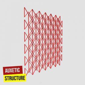 Auxetic Structure Grasshopper3d Human plugin