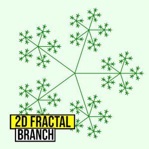 Fractal Anemone Branch