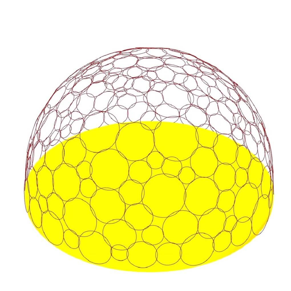 Circle Packing Dome