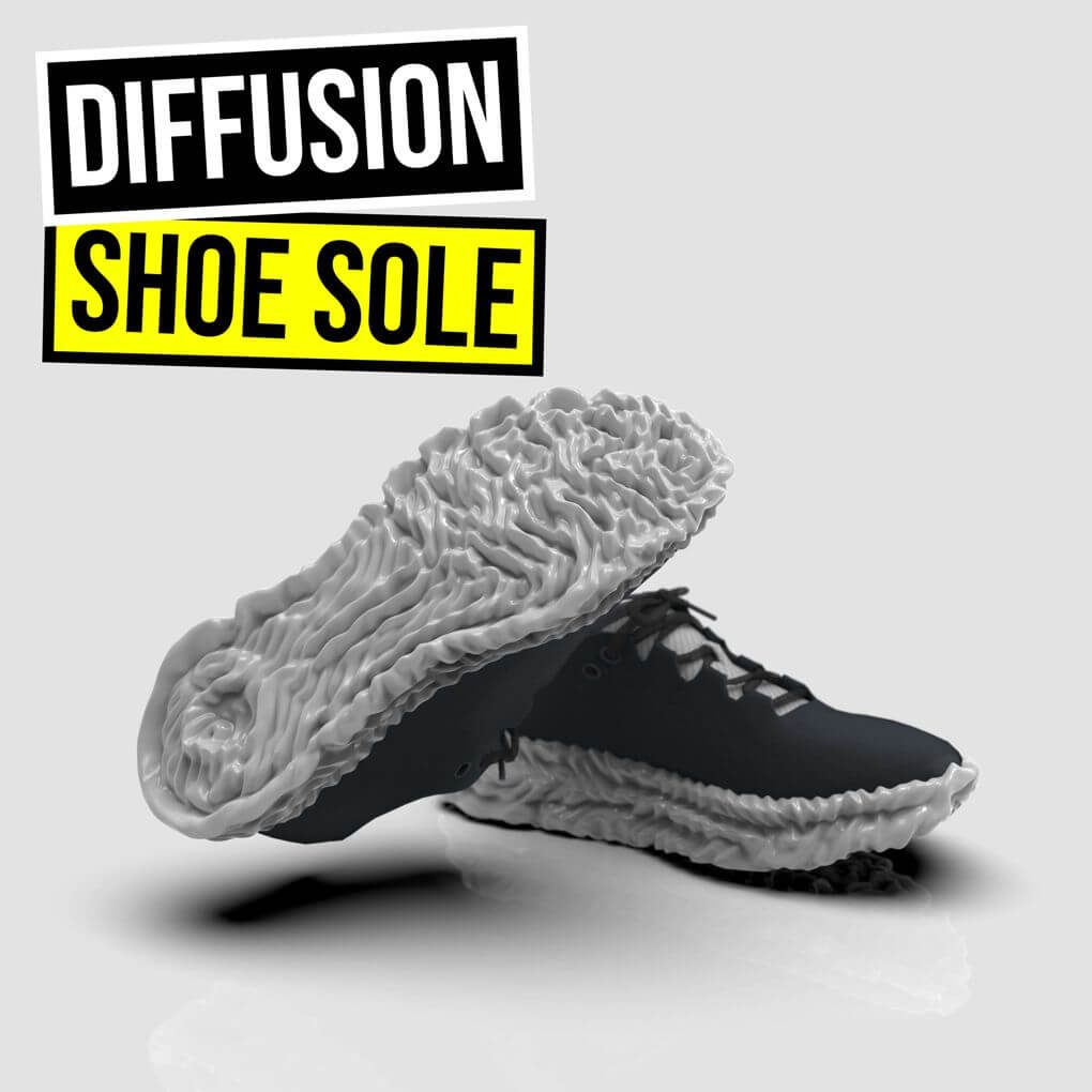Differential Growth Shoe Sole
