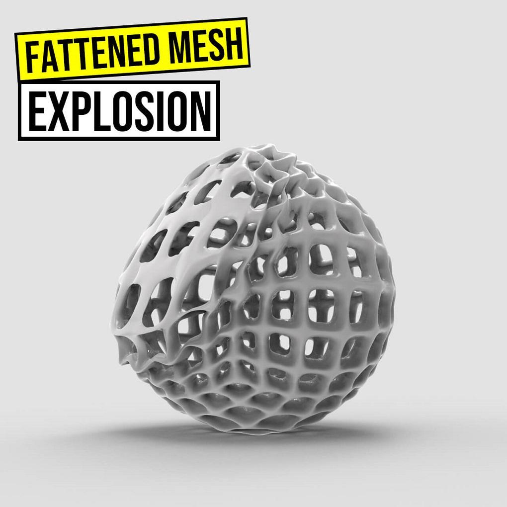 Mesh-Explosion