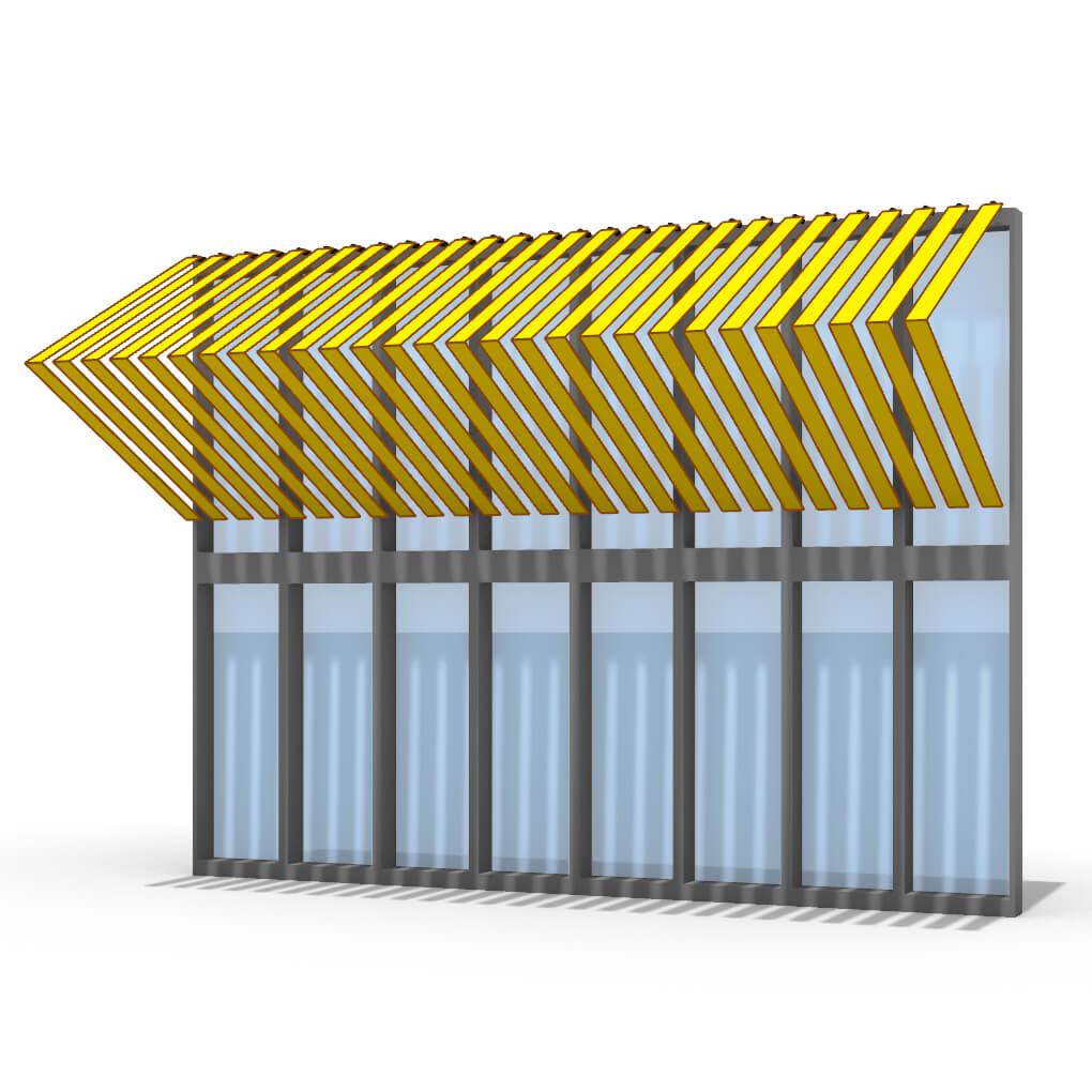 Kinetic Facade Panels