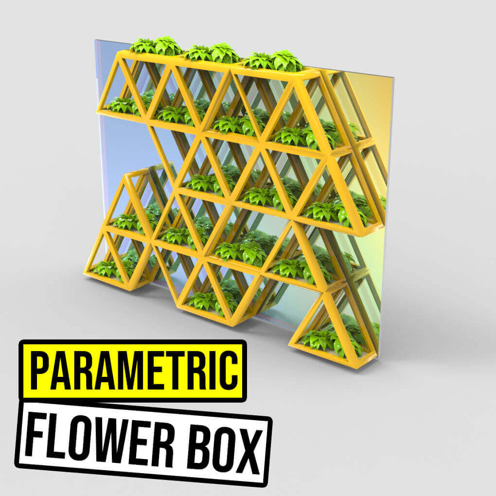 Parametric Flower Box