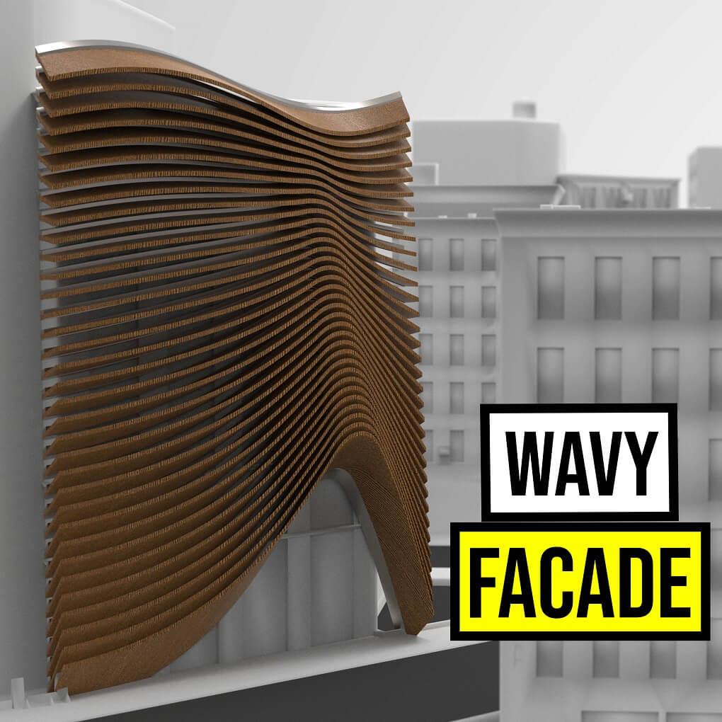 Wavy Facade