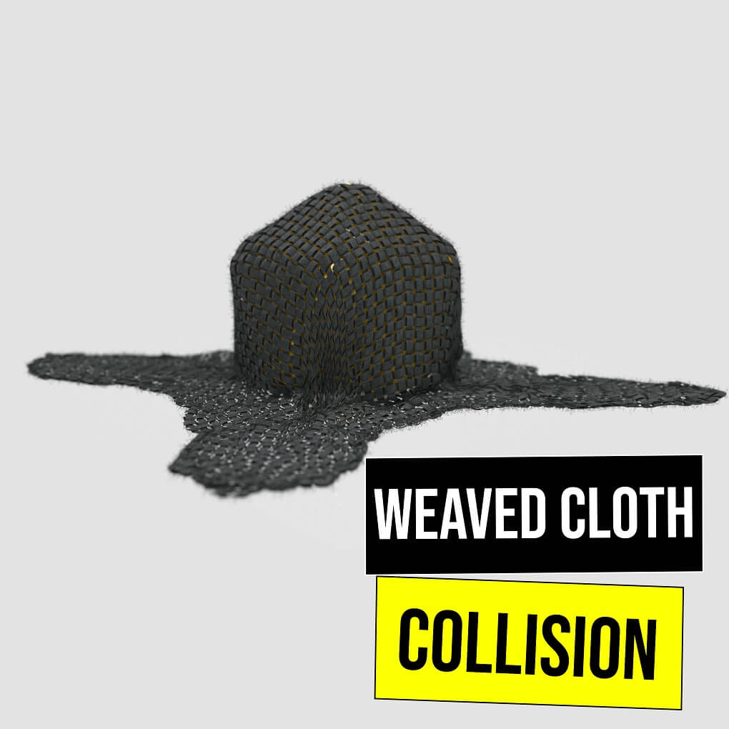 Weaved Cloth Collision