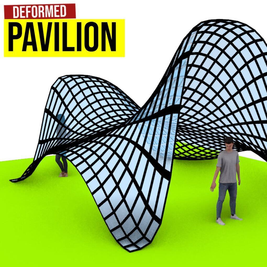 deformed pavilion