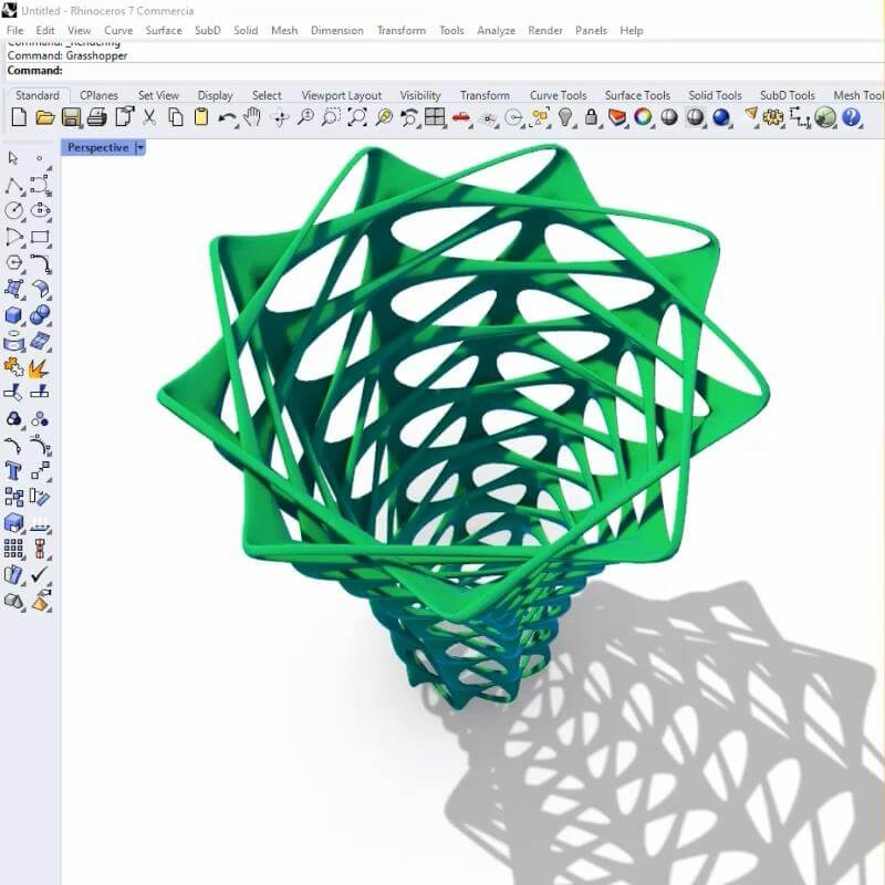 3D Vase Pattern