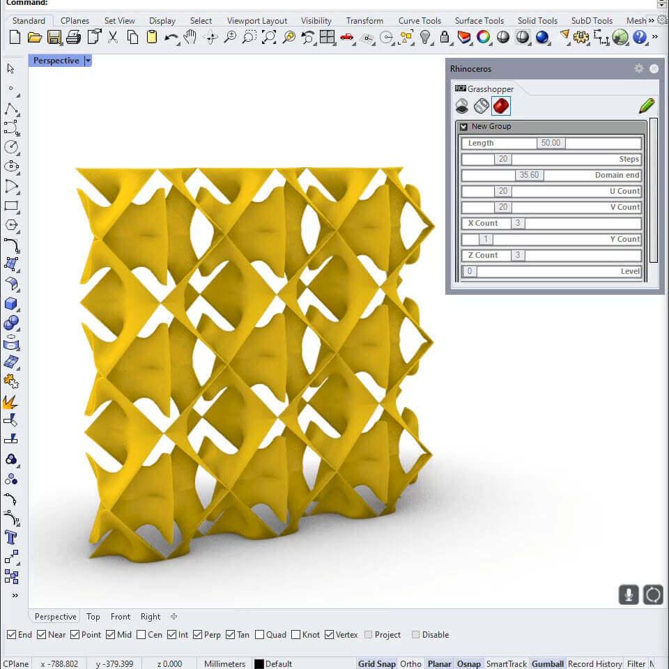 Minimal Surface Pattern