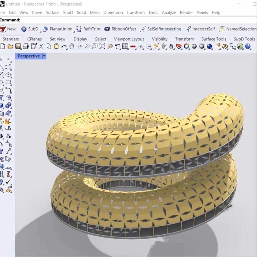 Spiral Ramp Pattern