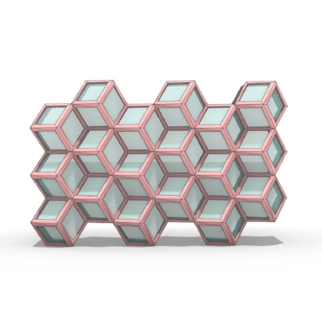 Staggered Cubes