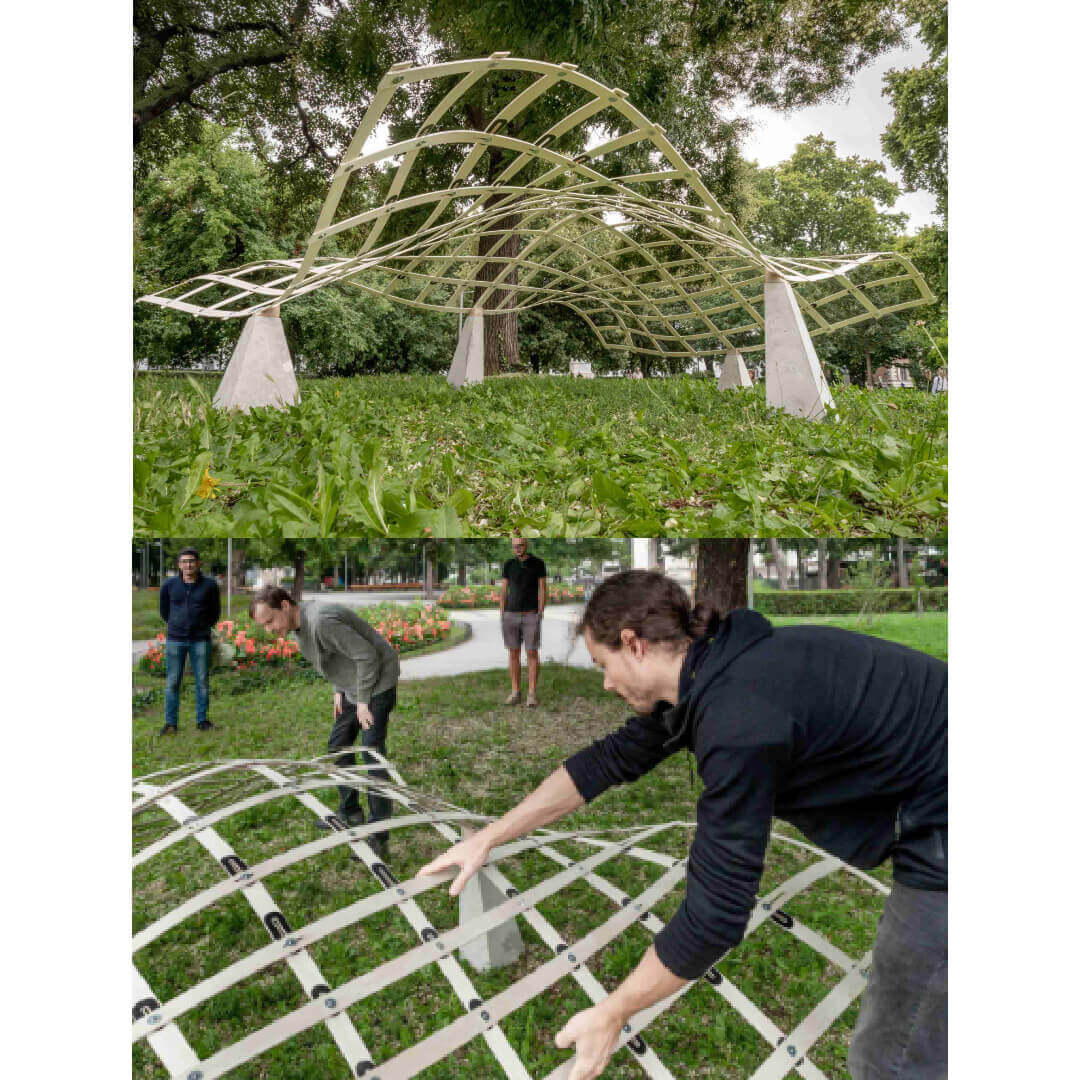 Geodesic Grid Structures